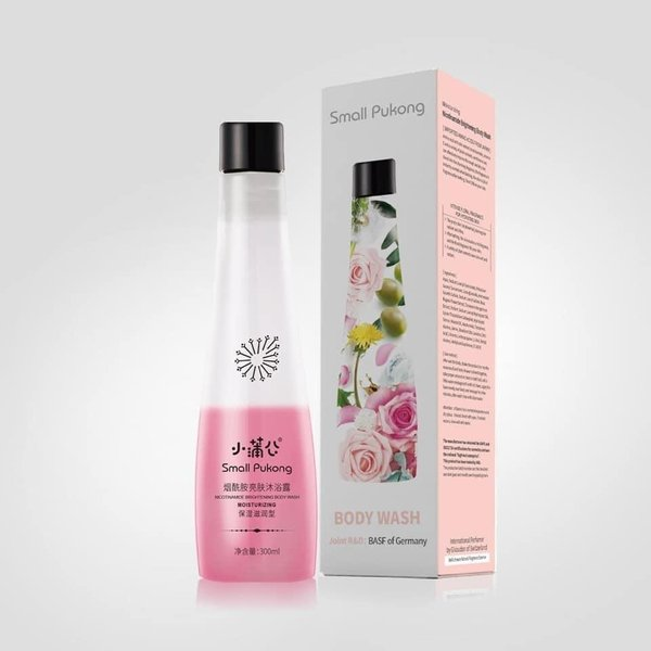 *NEW* SMALL PUKONG 2-in-1 SPA COCKTAIL BRIGHTENING BODY WASH (300ml)