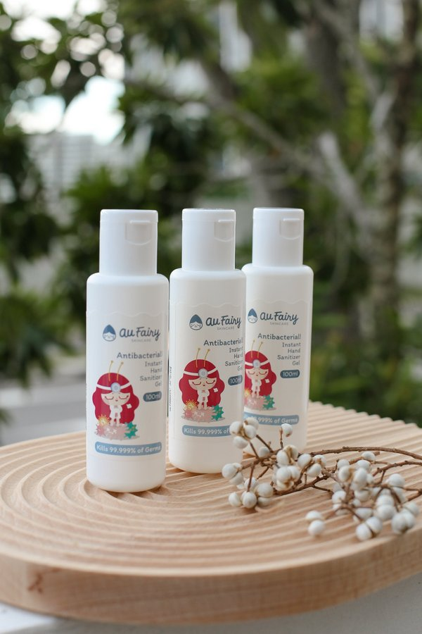 *READY STOCK* AU FAIRY ANTI BACTERIAL INSTANT HAND SANITIZER GEL (100ML)