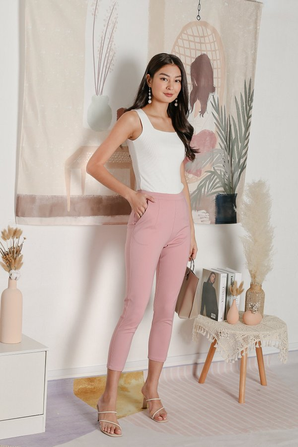 *TPZ* KYLA TAILORED PANTS IN PINK