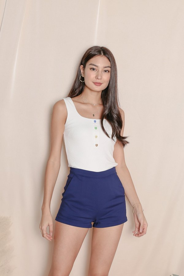 *TPZ* BEVERLY SHORTS IN MIDNIGHT BLUE