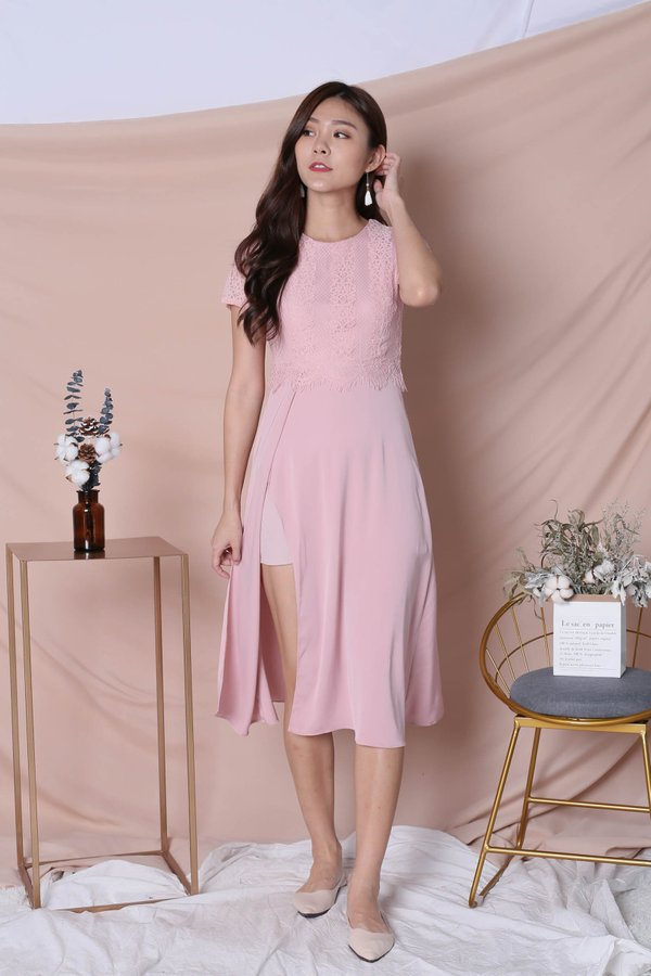 *TPZ* (PREMIUM) MAYRA DRESS IN DUSTY PINK