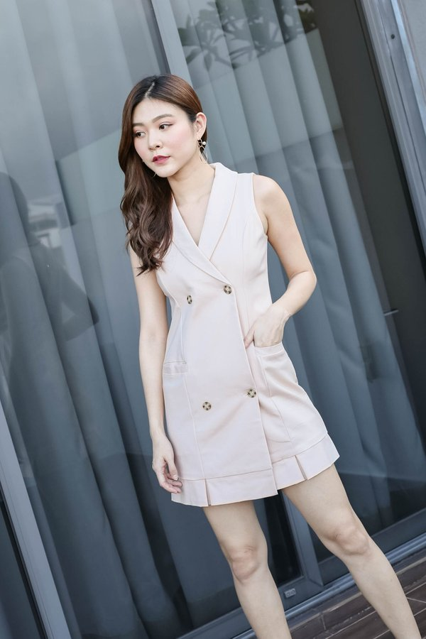 *TPZ* (PREMIUM) GO GET IT TRENCH DRESS IN SAND