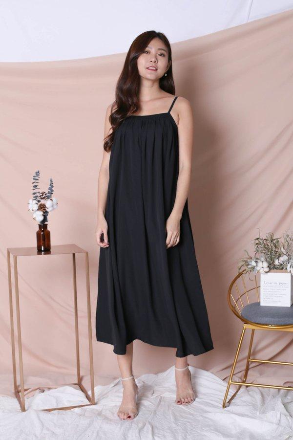*TPZ* (PREMIUM) SIGNATURE TENT DRESS IN BLACK
