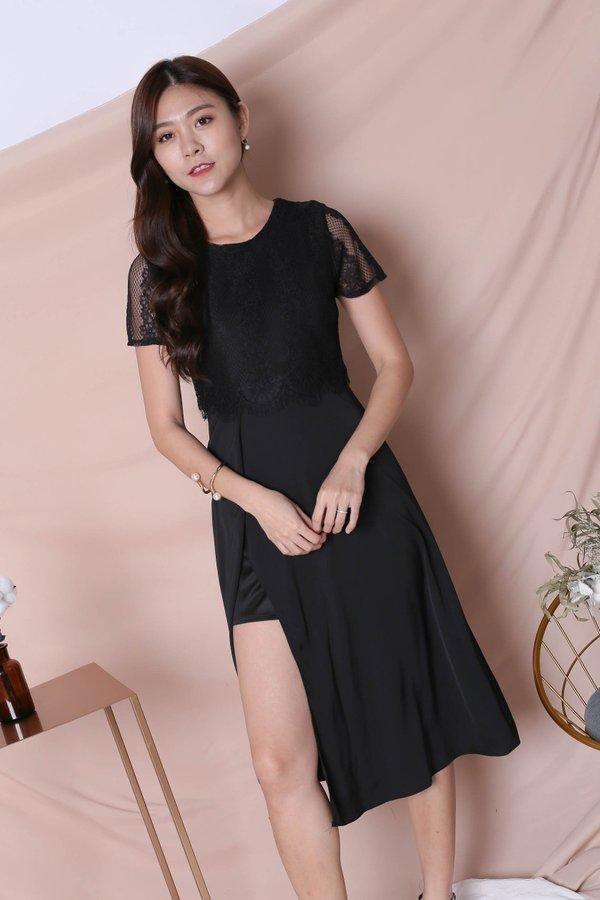 *TPZ* (PREMIUM) MAYRA DRESS IN BLACK