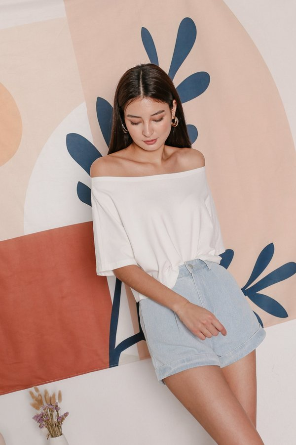 *TPZ* GO CASUAL TEE IN WHITE