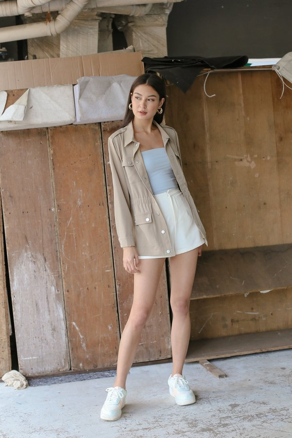 *TPZ* OUT AND ABOUT PARKA IN KHAKI