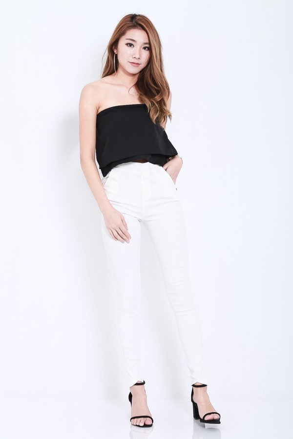 (RESTOCKED) CLASSIC STRETCHY JEGGINGS IN WHITE