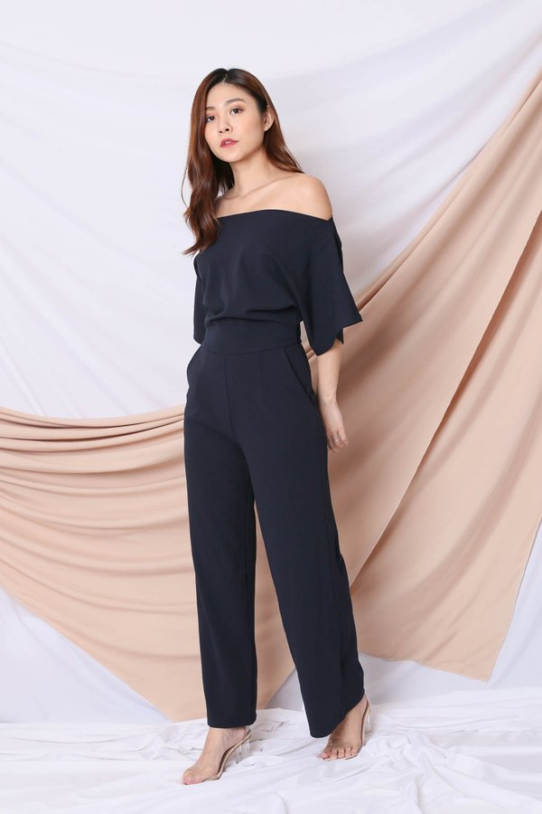 *TPZ* (PREMIUM) FAY MULTIWAY JUMPSUIT IN NAVY