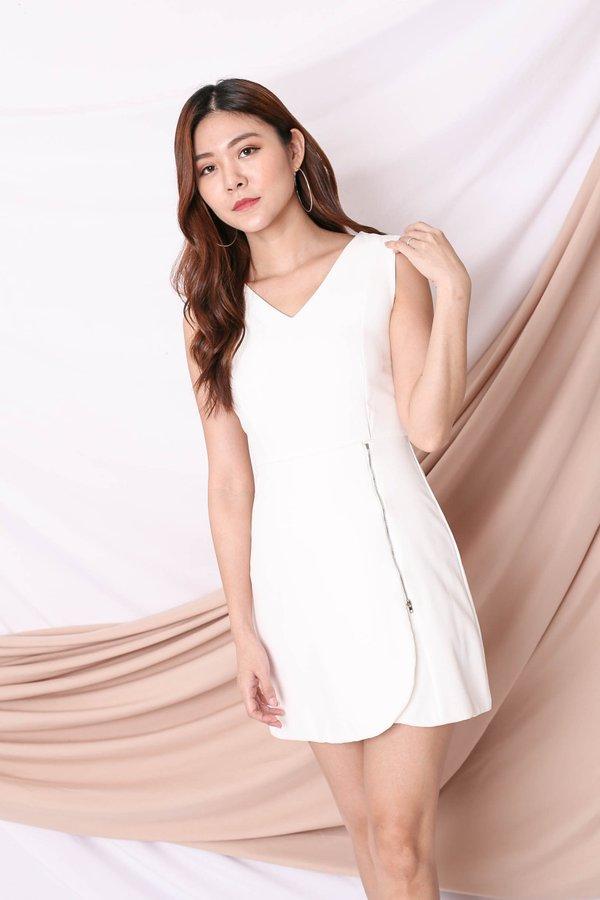 *TPZ* (PREMIUM) ARIA DRESS IN WHITE