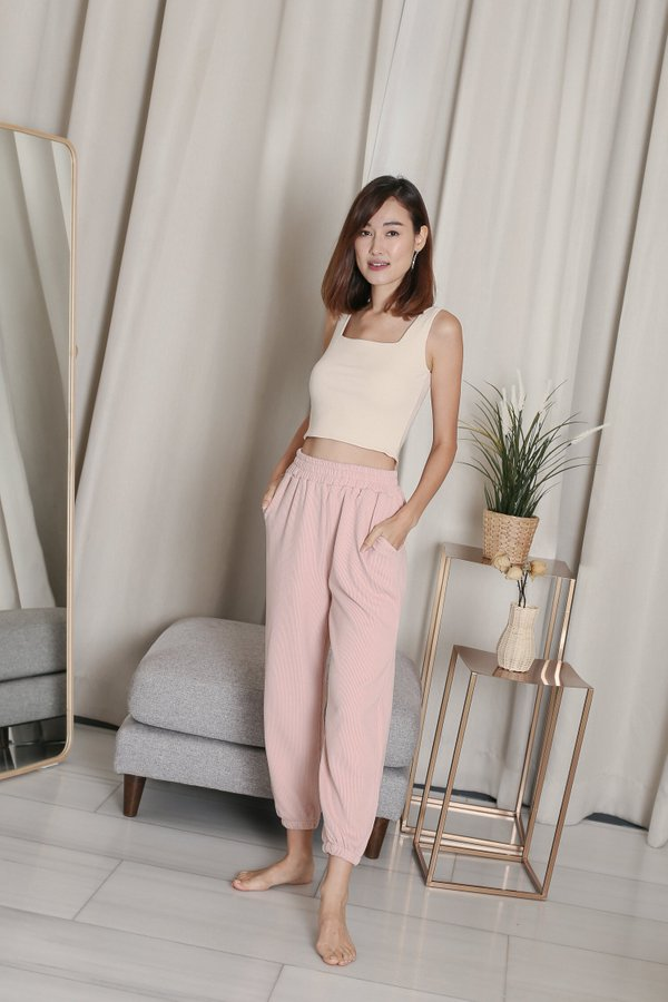 FREX JOGGER PANTS IN PINK