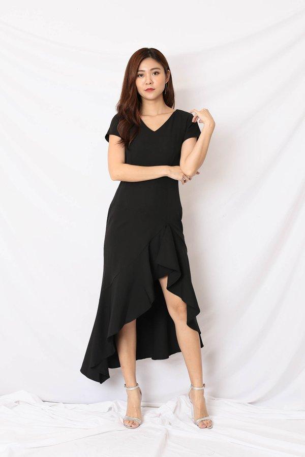 *TPZ* (PREMIUM) SHAYLI DRESS IN BLACK