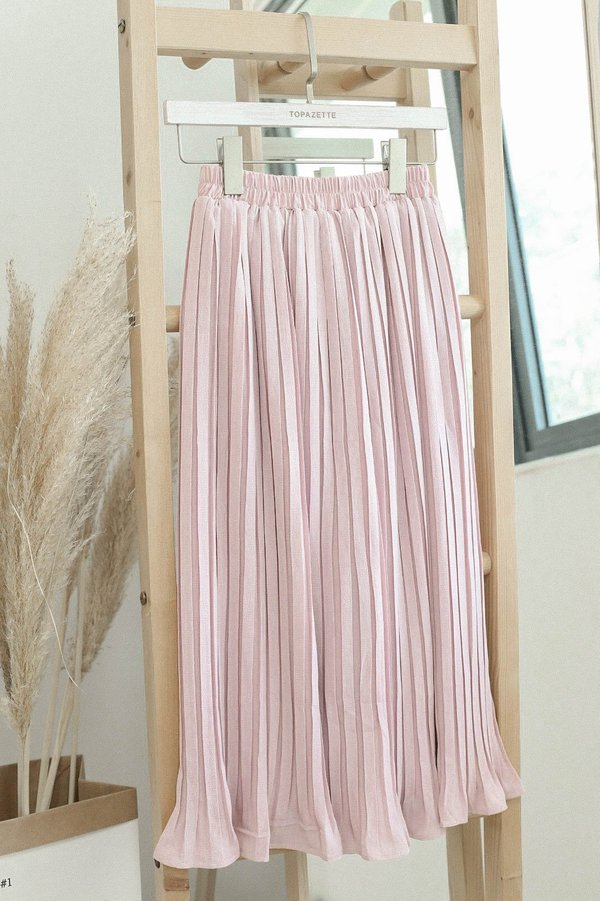 *TPZ* LEXI LEGENDARY PLEATED CULOTTES IN DUSTY PINK