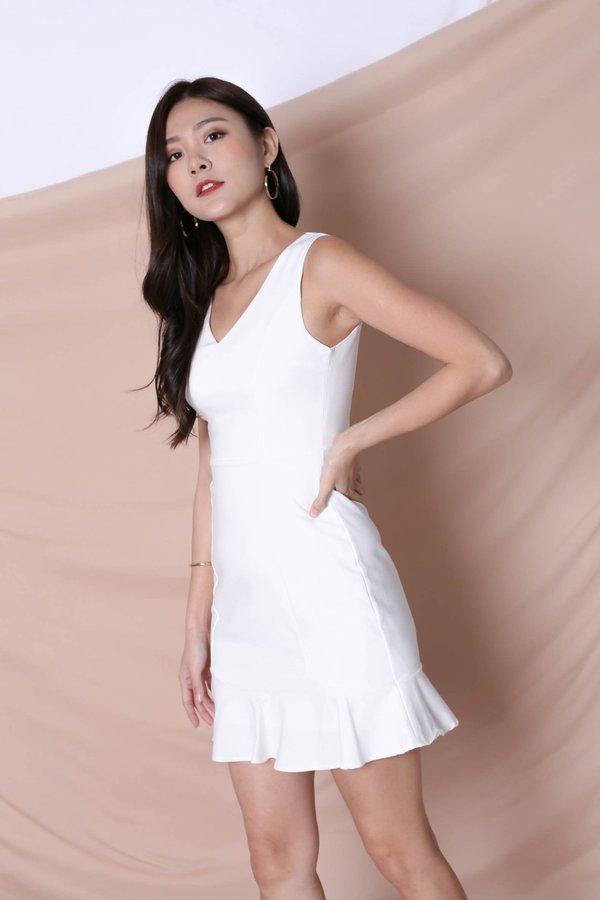 *TPZ* (PREMIUM) TILYS DRESS IN WHITE