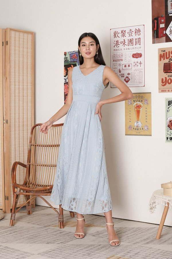 *TPZ* QIANA LACE MAXI IN BABY BLUE