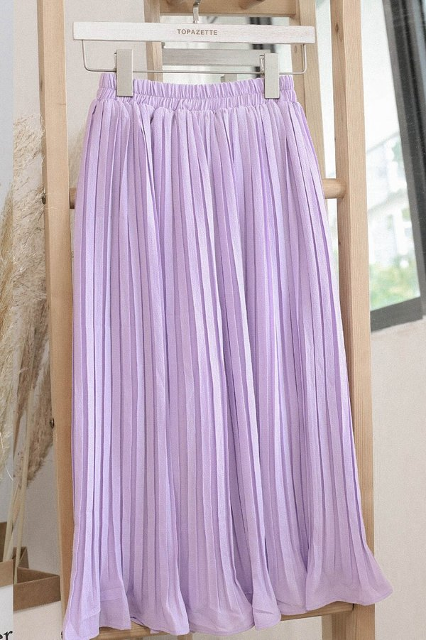 *TPZ* LEXI LEGENDARY PLEATED CULOTTES IN LAVENDER