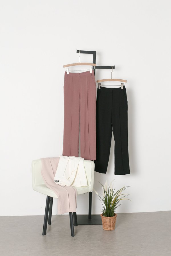 *TPZ* WORK IT PANELLED PANTS IN WHITE