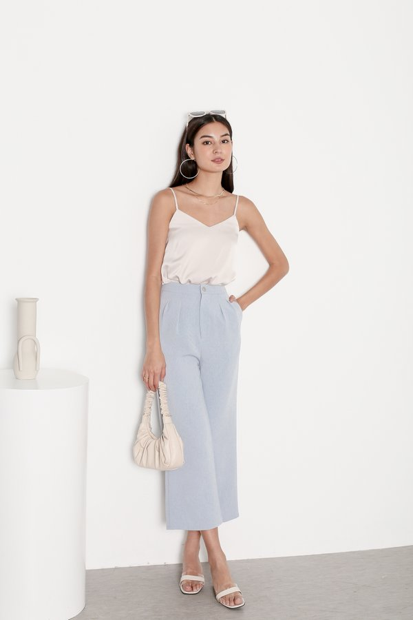 *TPZ* AVA PANTS IN BABY BLUE
