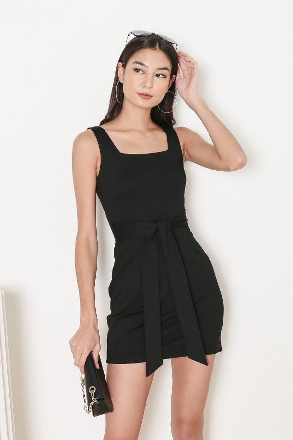 *TPZ* INTUITION DRESS IN BLACK