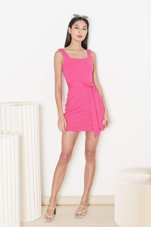 *TPZ* INTUITION DRESS IN BARBIE PINK