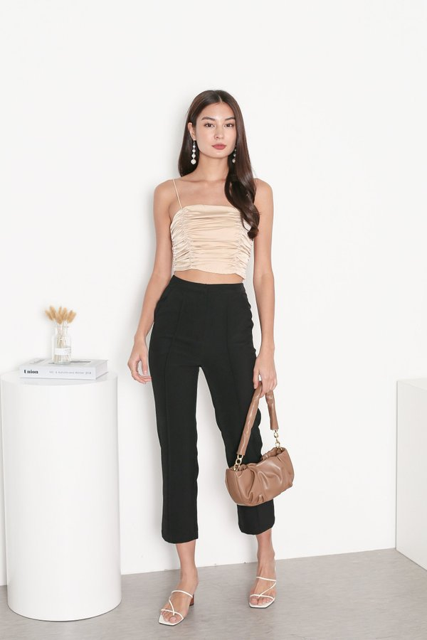 *TPZ* WORK IT PANELLED PANTS IN BLACK