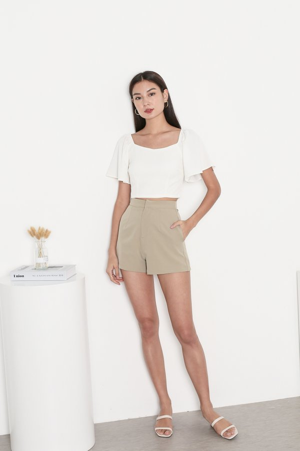 *TPZ* CLASSIC CLASP SHORTS IN MOSS GREEN