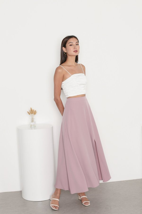 *TPZ* CHANCE MAXI SKORTS IN DUSTY PINK