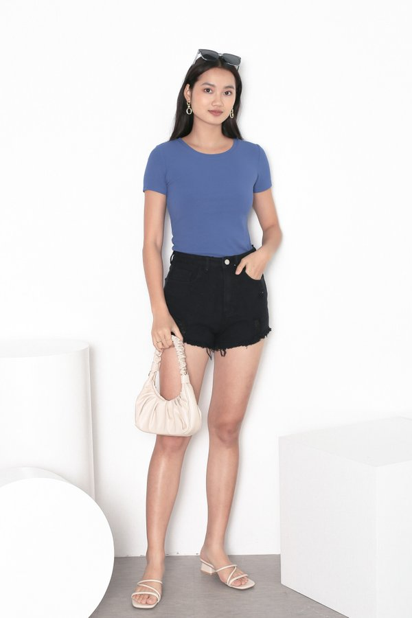 *TPZ* ERR DAY BASIC TOP IN AZURE BLUE
