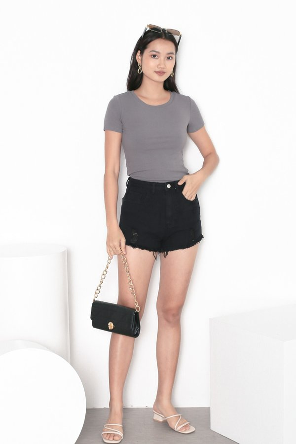 *TPZ* ERR DAY BASIC TOP IN CONCRETE GREY